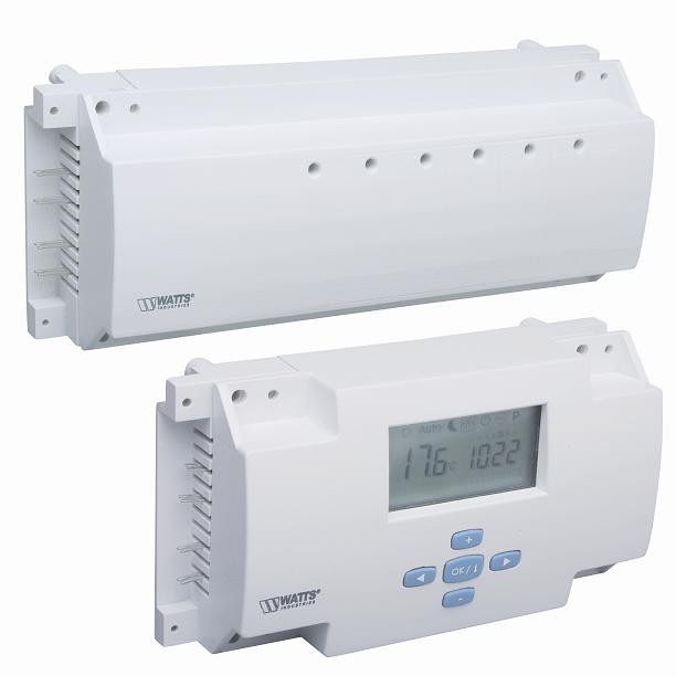 Jednostka kontrolna do 4 termostatów bezprzewodowych